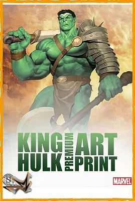 Hulk King Art Print Marvel - Sideshow
