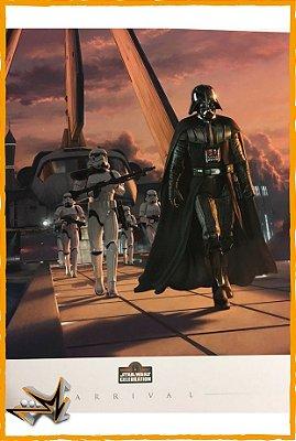Star Wars By Jerry Vanderstelt Art Print