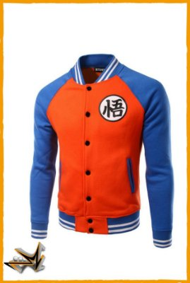 Moletom Cosplay Goku Dragon Ball Super - Dragon Ball