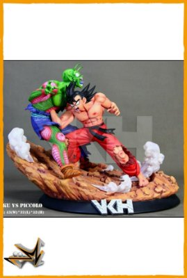 Goku Vs Piccolo Diorama Dragon Ball - VKH