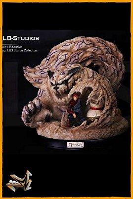 Gaara e Shukaku Estátua Naruto Shippuden - LB Studios