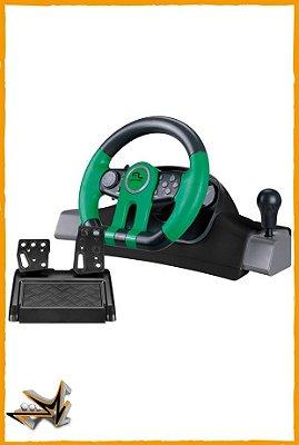 Volante Racer Xbox One e PC com Marcha Acoplada - Multilaser