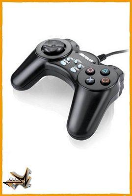 Controle Joystick Preto para PC - Multilaser