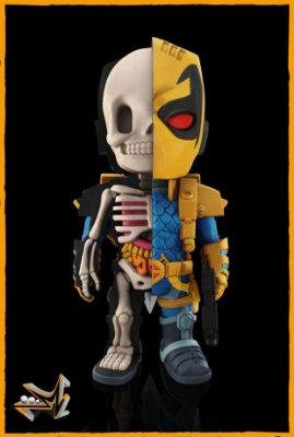 Deathstroke Dc Comics - Xray