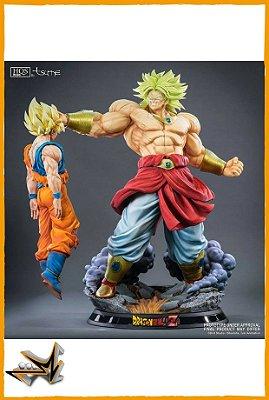 Broly Super Saiyan Ver. HQS+ Dragon Ball - Tsume art (reserva de 20% do valor)