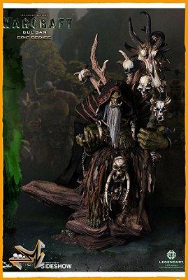 Gul'dan Warcraft Estátua Premium - Damtoys (reserva de 10% do valor)