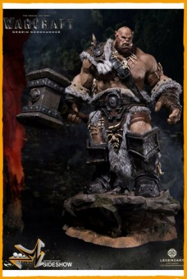 Orgrim Doomhammer Warcraft Estátua Premium - Damtoys (reserva de 10% do valor)