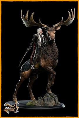 Thranduil On Elk 1/6 O Hobbit - Weta