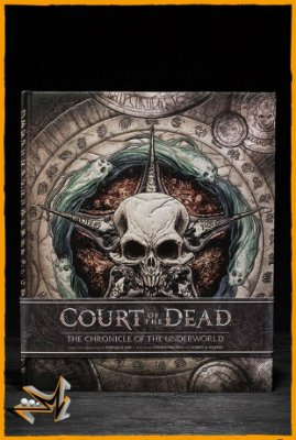 Livro Court of the Dead The Chronicle of the Underworld - Sideshow Collectibles