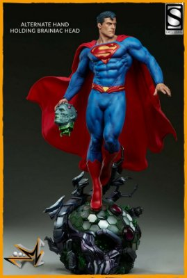Superman Premium Format EX Dc Comics - Sideshow (reserva de 10% do valor)