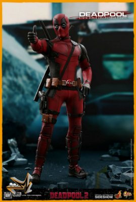 Deadpool Versão Deadpool 2 1/6 Marvel - Hot Toys (reserva de 10% do Valor)