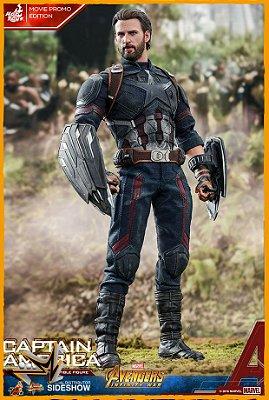 Capitão América EX Vingadores Guerra Infinita 1/6 Marvel - Hot Toys (reserva de 10% do Valor)