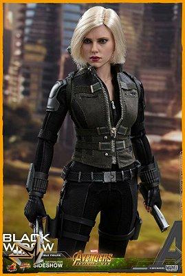 Viúva Negra Vingadores Guerra Infinita Marvel 1/6 - Hot Toys (reserva de 10% do valor)