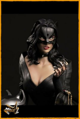 Catwoman Statue Premium 1/4 Dc Comics - Xm Studios (PRÉ-VENDA)