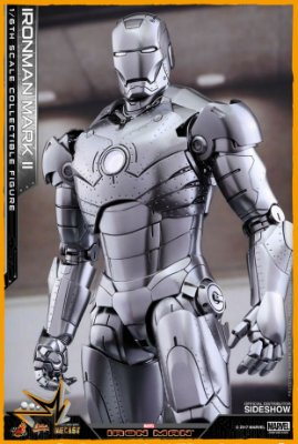 Iron Man Mark II Diecast 1/6 Marvel - Hot Toys (PRÉ-VENDA)