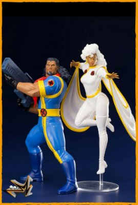 Bishop e Storm X-Men Statue ArtFx Pack 92 1/10 Marvel - Kotobukiya (PRÉ-VENDA)