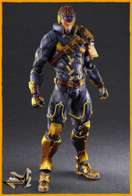 Cyclops X-Men Marvel - Play Arts Kai (PRÉ-VENDA)