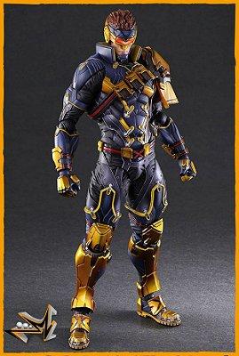 Cyclops X-Men Marvel - Play Arts Kai (PRÉ-VENDA)