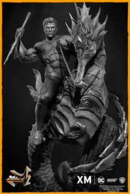 Aquaman 1/6 Premium Collectibles Dc Comics - XM Studios (PRÉ-VENDA)