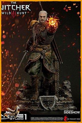 Geralt Of Rivia Skellige Undvik Armor The Witcher 3 - Prime 1 Studio (PRÉ-VENDA)