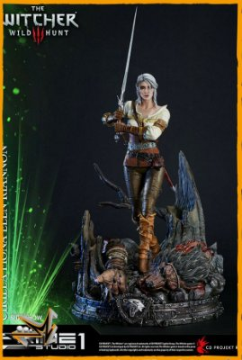 Ciri Of Cintra The Witcher 3 Wild Hunt - Prime 1 Studio (PRÉ-VENDA)