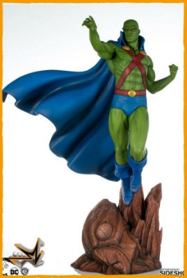 Martian Manhunter 1/6 Maquette By Tweeterhead Dc Comics - Sideshow Collectibles (PRÉ-VENDA)