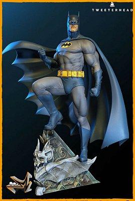 Batman 1/6 Maquette By Tweeterhead Dc Comics - Sideshow Collectibles (PRÉ-VENDA)