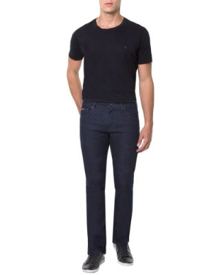 Calça Calvin Klein Jeans Five Pockets Relaxed Straight