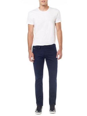 Calça Calvin Klein Jeans Five Pockets Slim Straight