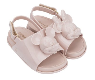 Mini Melissa Beach Slide Sandal + Disney