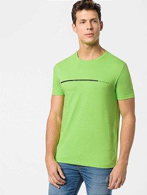 Camiseta Calvin Klein Jeans Logo Horizontal