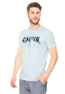 Camiseta Calvin Klein Jeans Comfort Azul