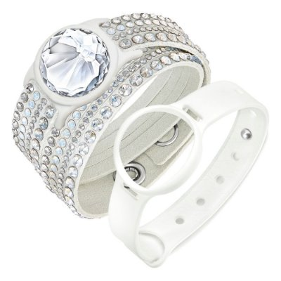 Swarovski activity tracking jewelry, Branco