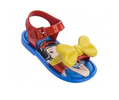 Mini Melissa Mar Sandal + Snow White