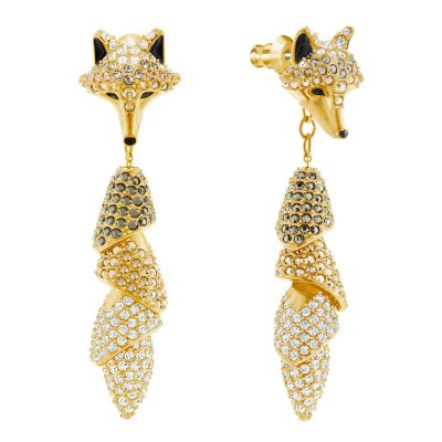 Brincos March Fox Swarovski
