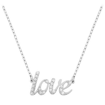 "Colar Emotion ""Love"", Swarovski"