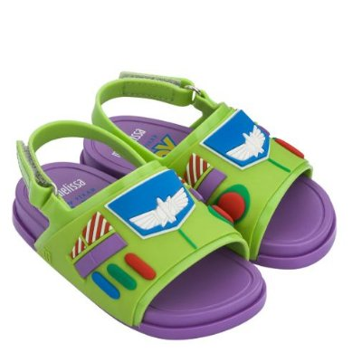 Mini Melissa Beach Slide + Toy Story