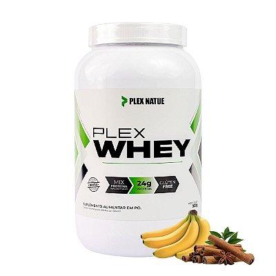 Whey Protein 3w Gourmet 900g - Plex Natue