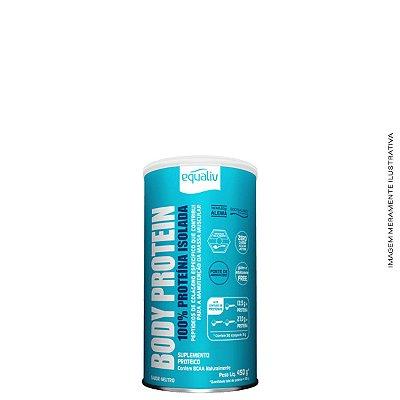 Body Protein 450g Proteína Isolada - Equaliv