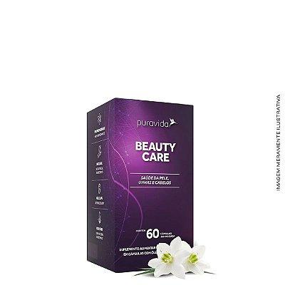 Beauty Care 60 Caps Pele Cabelo e Unhas - Pura Vida