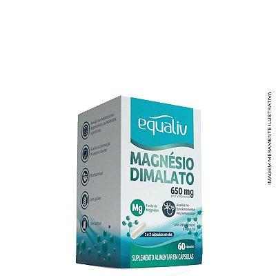 Magnésio Dimalato 60 Cáps - Equaliv