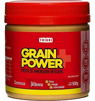 Pasta de Amendoim 1kg Cremosa - Grain Power