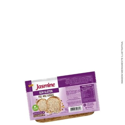 Pão Sem Glúten Multigrãos 350g - Jasmine