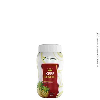 Chá Keep Diuretic Abacaxi 100g - Fitoway