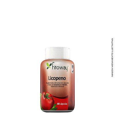 Licopeno + Selênio + Vitaminas C e E 60 Cáps - Fitoway