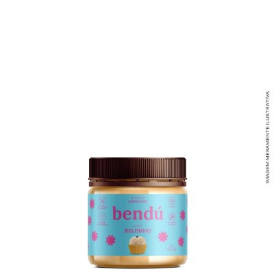 Pasta de Amendoim Beijinho (Vegano) 450g - Bendú