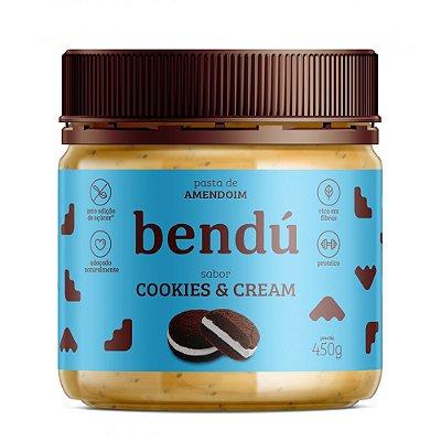 Pasta de Amendoim Cookie 450g - Bendú
