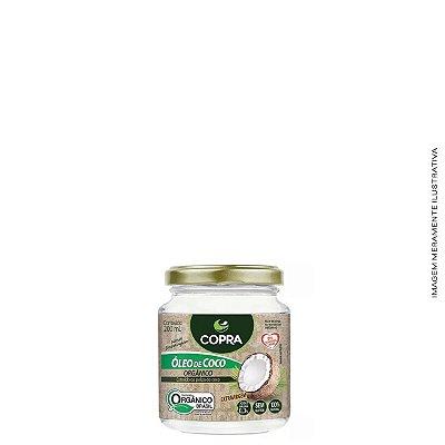 Óleo de Coco Extra Virgem Orgânico 200ml - Copra