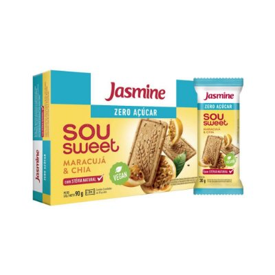 Sou Sweet Maracujá com Chia 90g - Jasmine