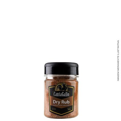 Dry Rub 160g - CantaGallo